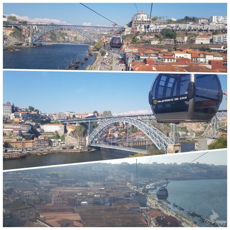 teleférico de Gaia en Oporto
