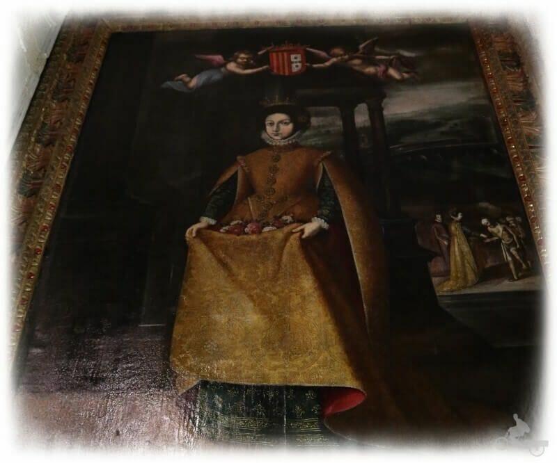 Cuadro de la Reina Santa Isabel