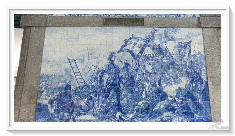 La conquista de Ceuta en 1415 en la estacion oporto
