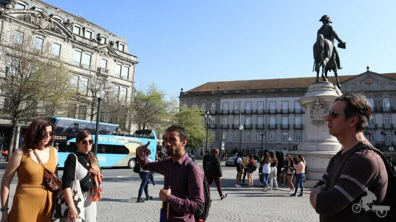 Monumento Pedro IV portugal