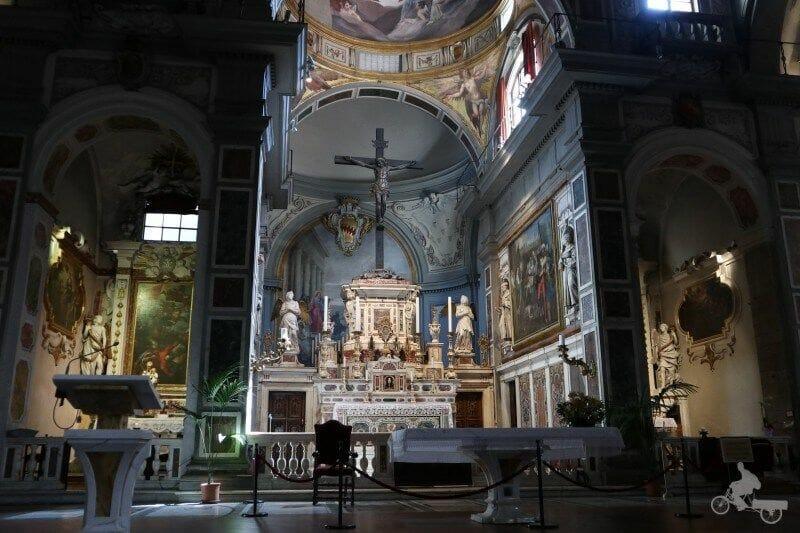altar iglesia ognissanti