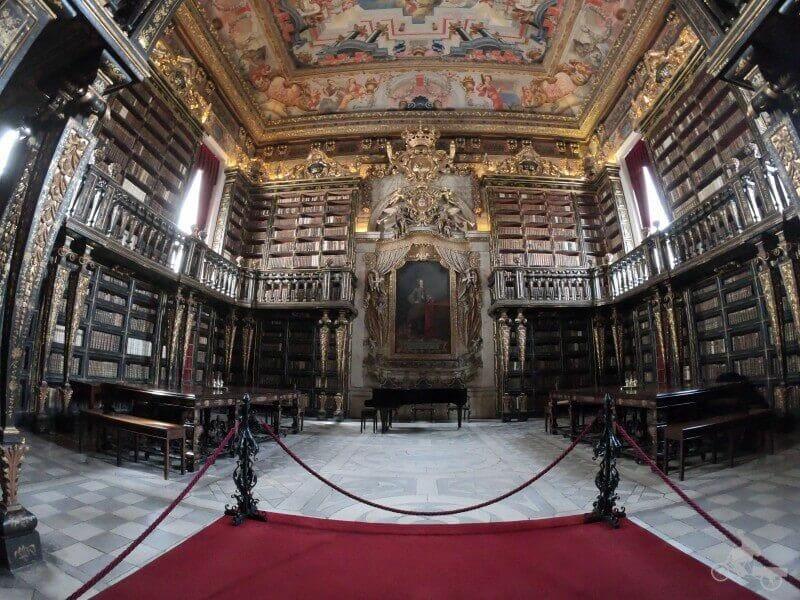 biblioteca joanina universidad coimbra