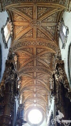 bóveda iglesia san francisco de oport