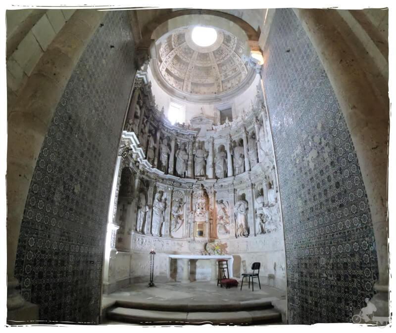 capilla santisimo sacramento catedral coimbra