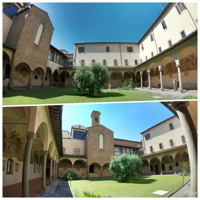 claustro iglesia ognissanti