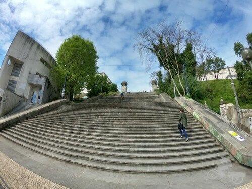 escaleras universidad coimbra
