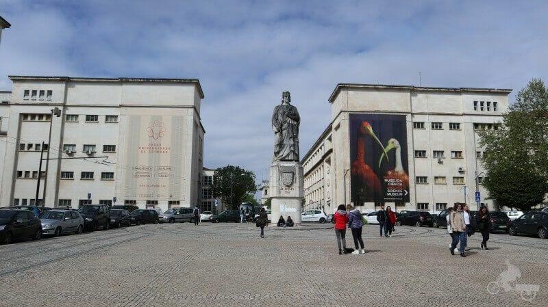 estatua rey dinis