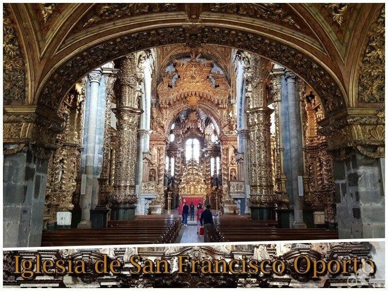 iglesia de san francisco oporto que visitar en Oporto