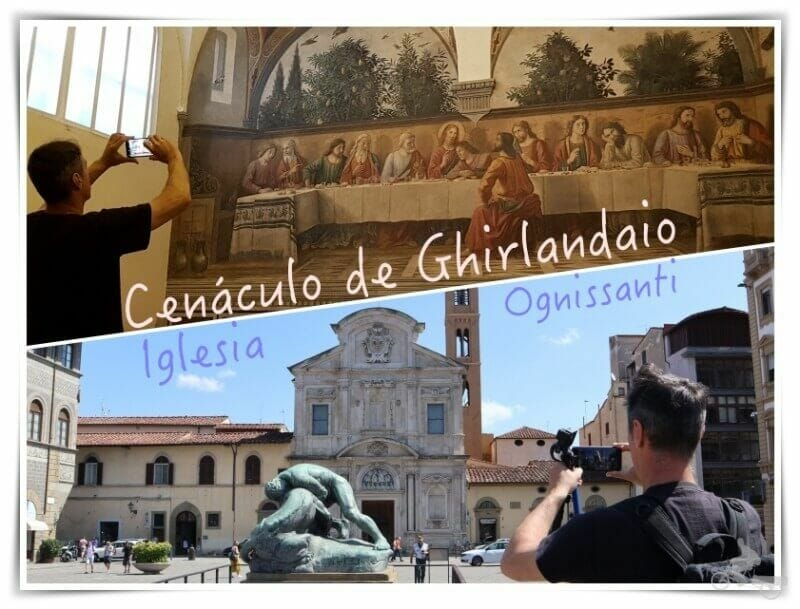 Iglesia de Ognissanti y Cenáculo de Ghirlandaio