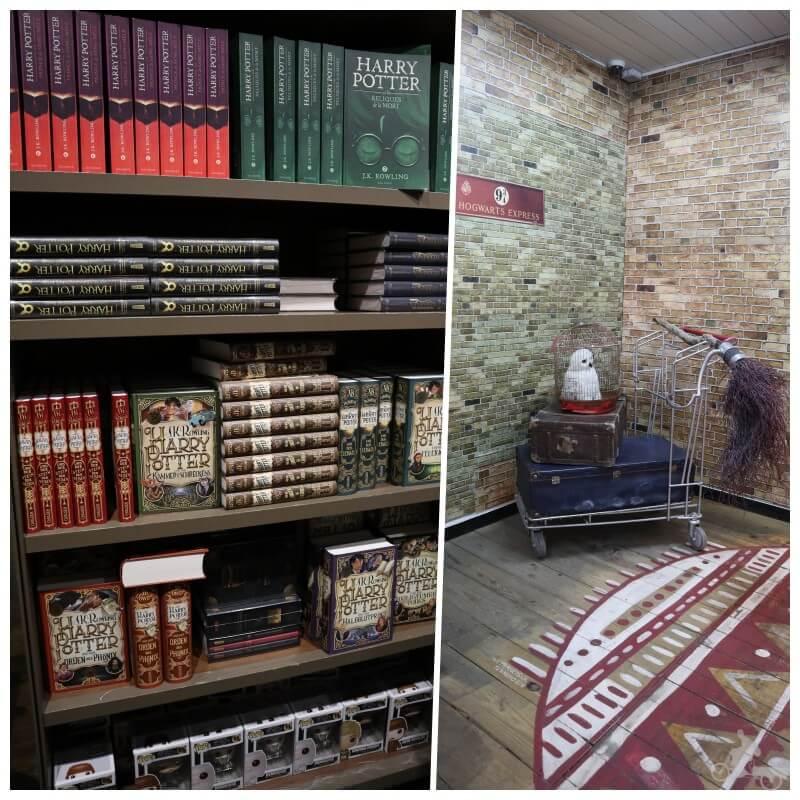 libros en la libreria lello harry potter oporto
