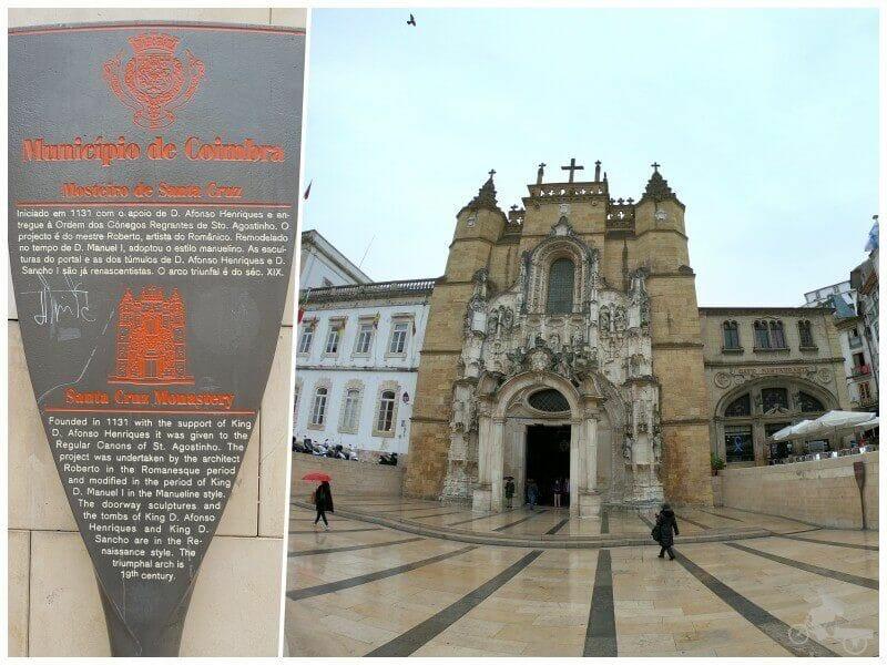 monasterio santa cruz coimbra