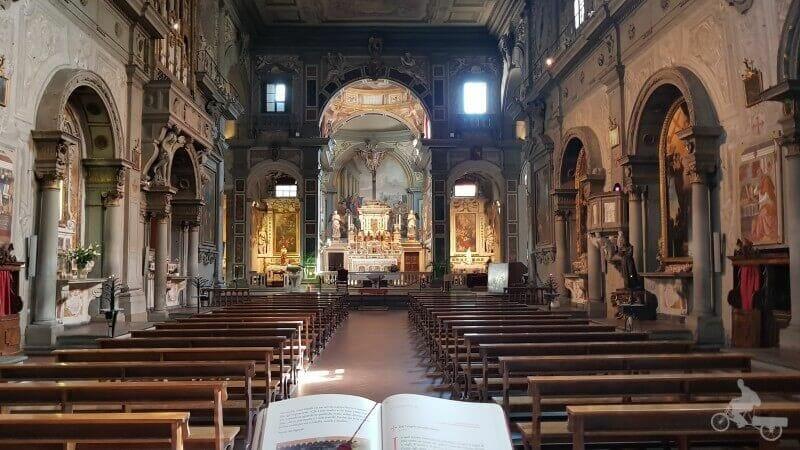 nave iglesia ognissanti
