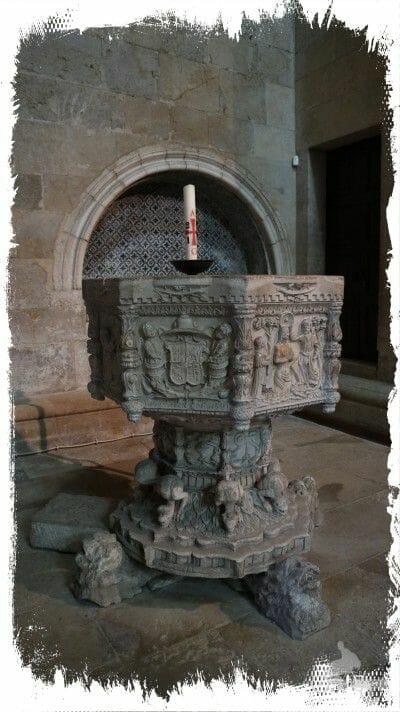pila bautismal catedral coimbra