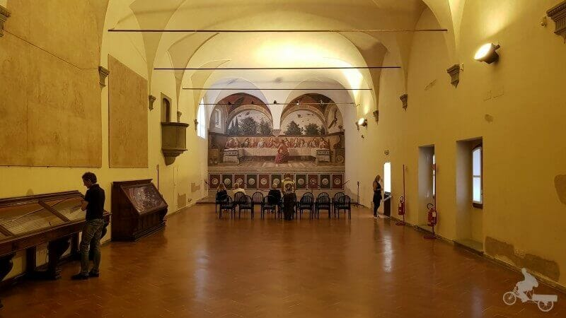 refectorio Iglesia ognissanti