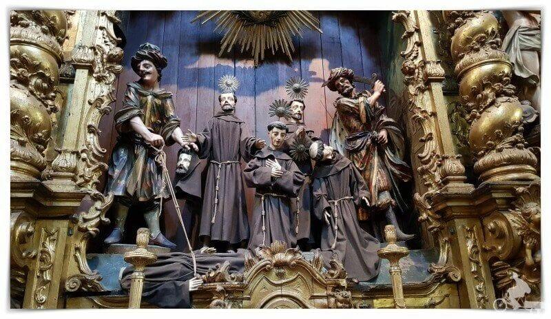 retablo de los Santos Mártires de Marruecos