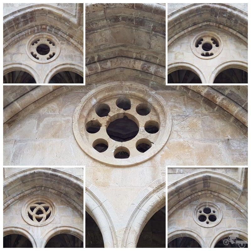 exterior rosetones catedral de coimbra