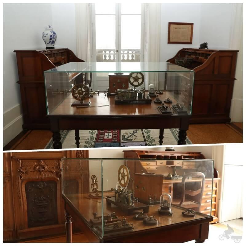 sala del telegrafo de la bolsa de oporto