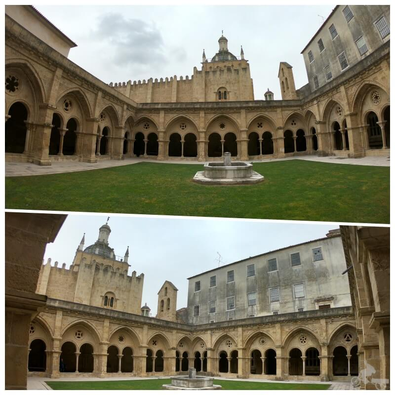 claustro de la catedral vieja de Coimbra se Velha