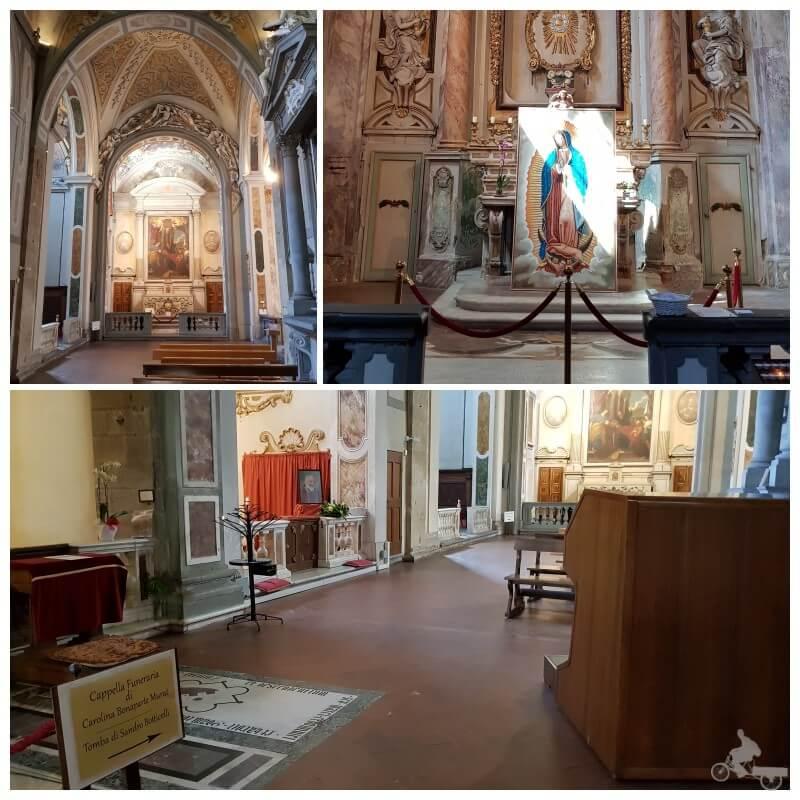 transepto tumba botticelli