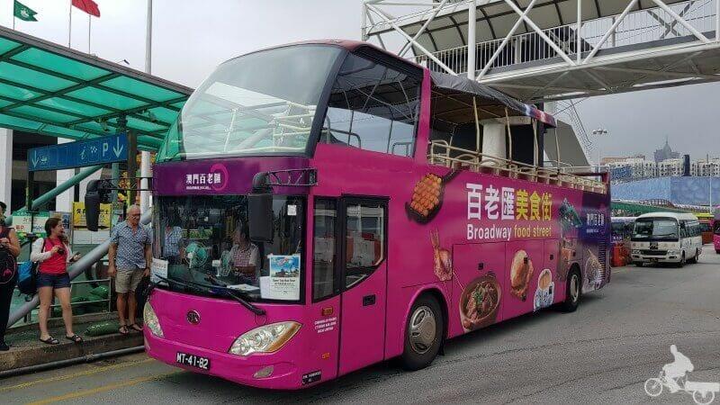 autobus turístico de Macao