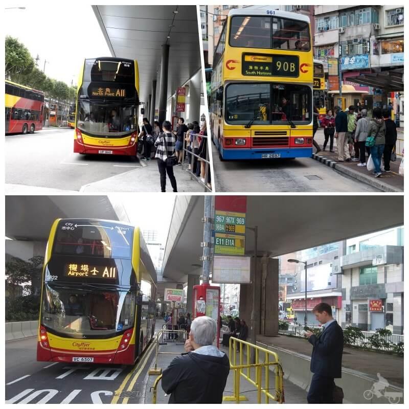 autobuses aeropuerto de hong kong