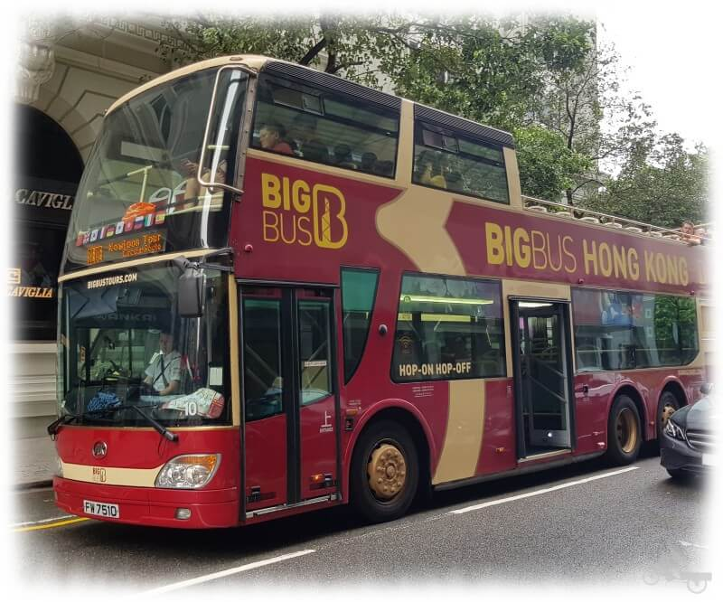 hong kong autobus turistico