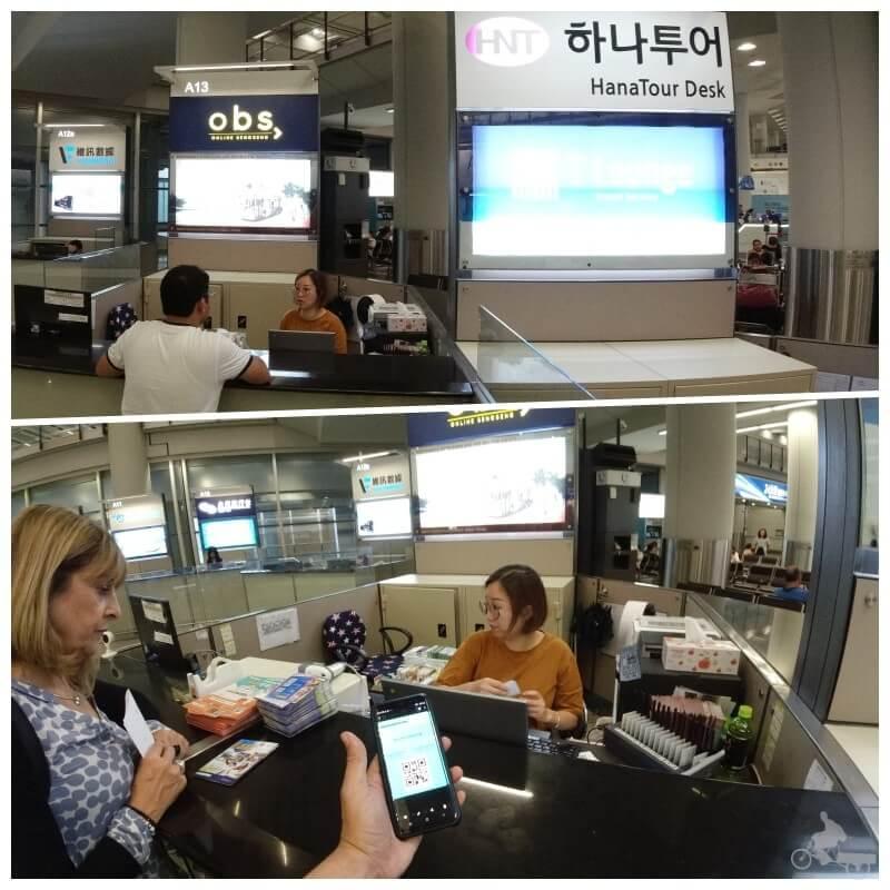 mostrador hong kong pass aeropuerto