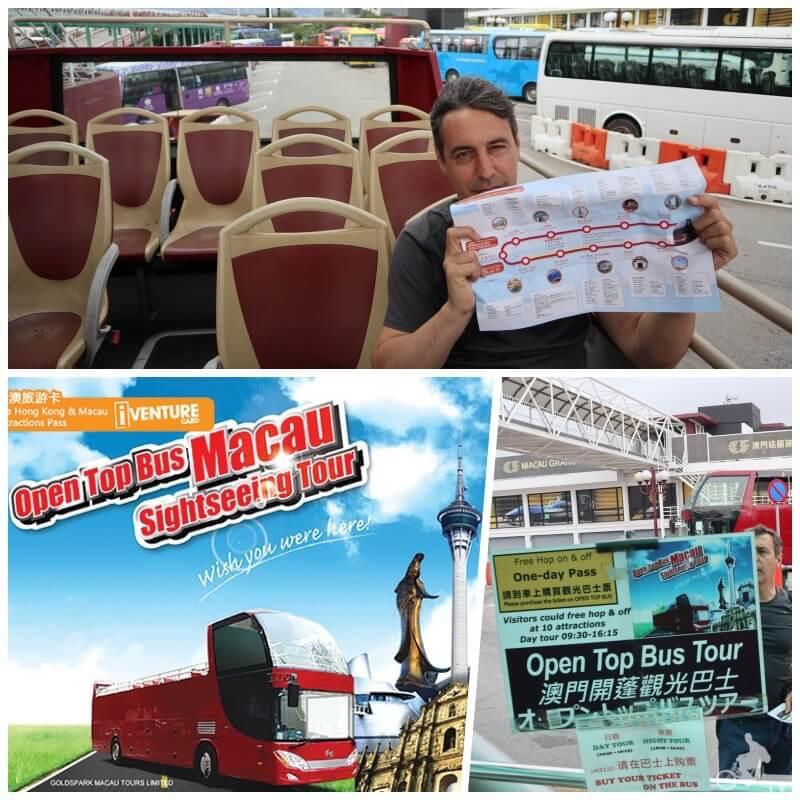 open bus turístico de Macao
