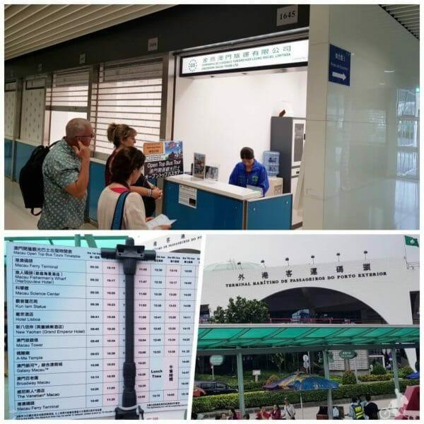 terminal ferry macao bus turistico