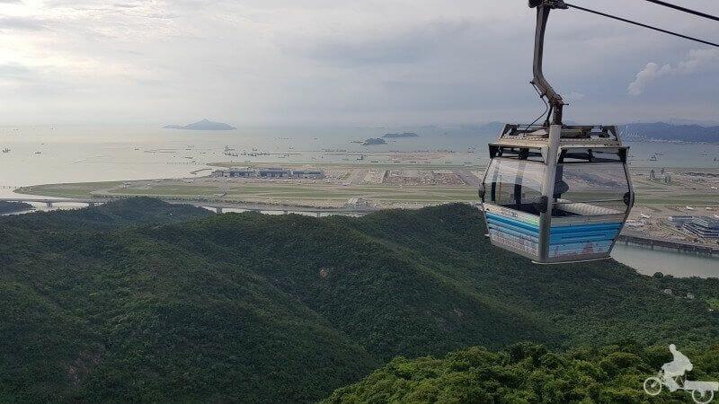 aeropuerto desde teleferico hong kong