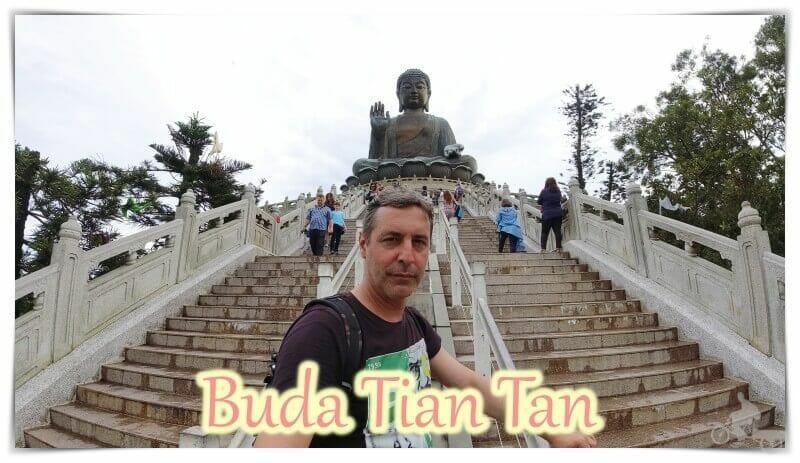 Buda Tian Tan de la isla de lantau