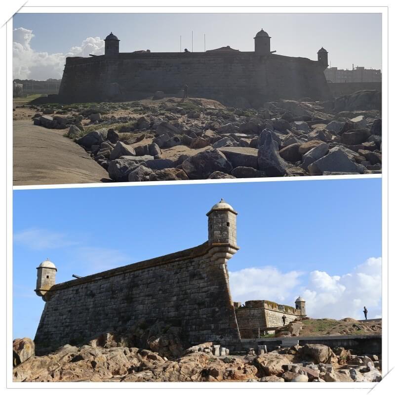castillo del queso oporto cerca de la desembocadura del Duero