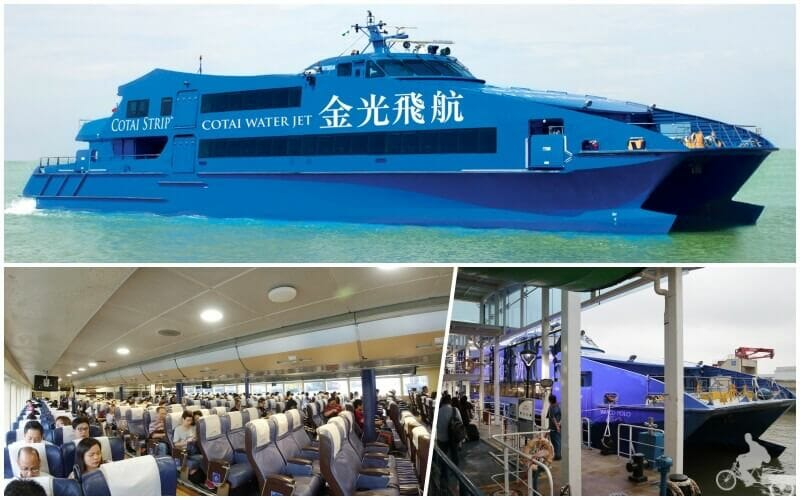 ferry cotai water jet