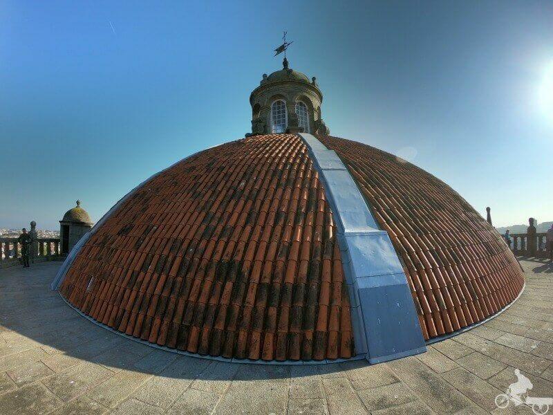cupula iglesia da Serra do Pilar en Vila Nova de Gaia