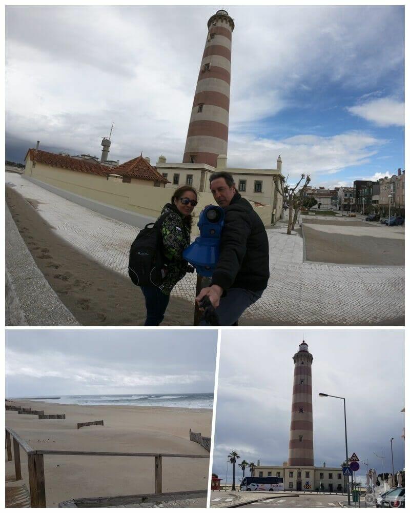 faro de la playa de Barra - faro más alto de portugal