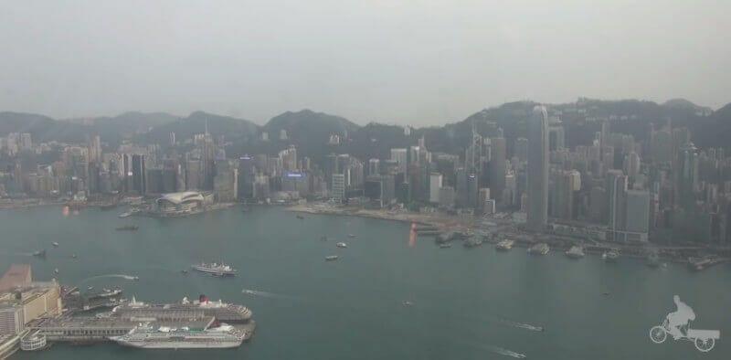 isla de hong kong desde sky 100