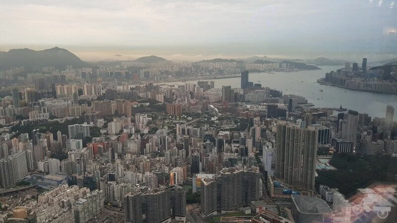 kowloon desde sky 100