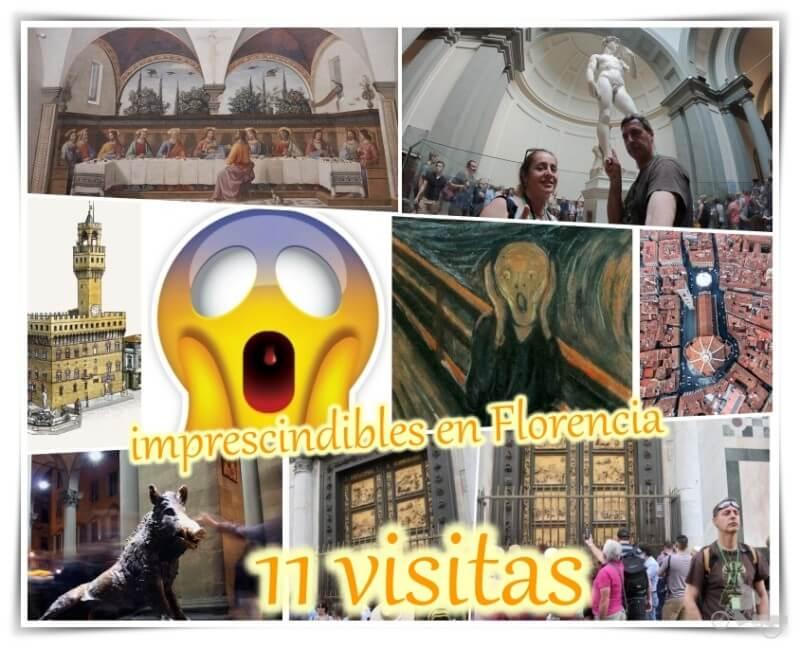lugares que visitar en Florencia