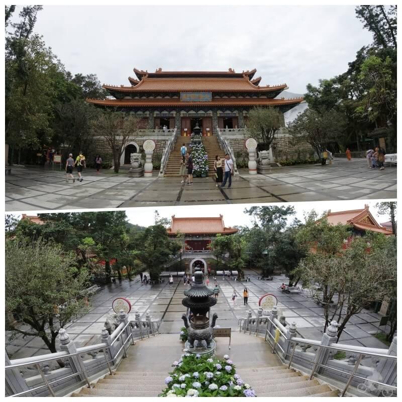 monasterio po lin isla Lantau