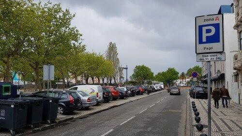 parking zona azul de aveiro