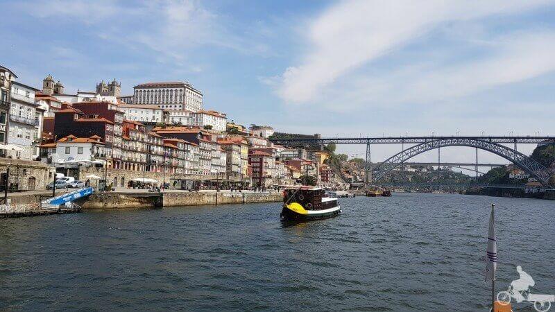 puente don luis I desde el río Duero