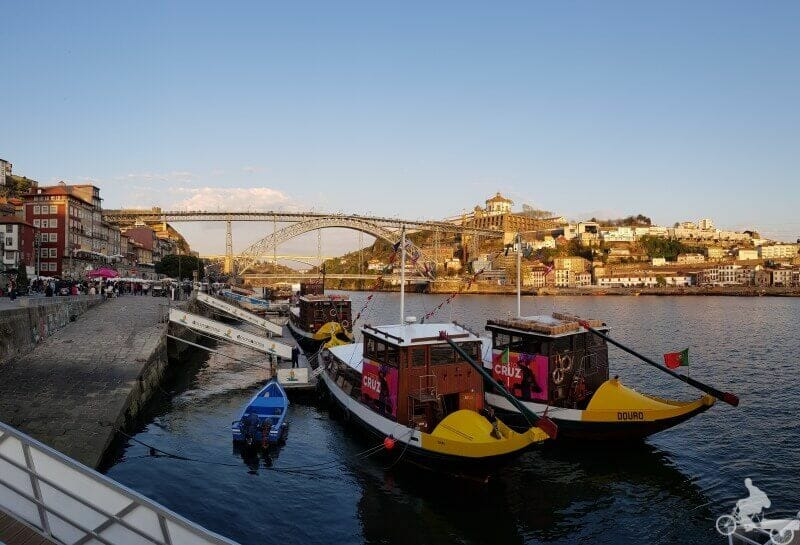 puente don luis I desde barrio de la ribeira