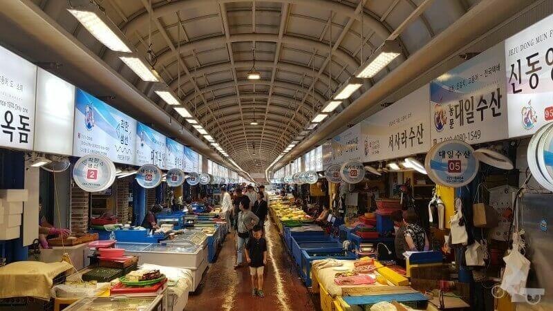Dongmun traditional market - jeju island