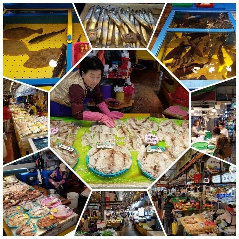 Dongmun traditional market - jeju