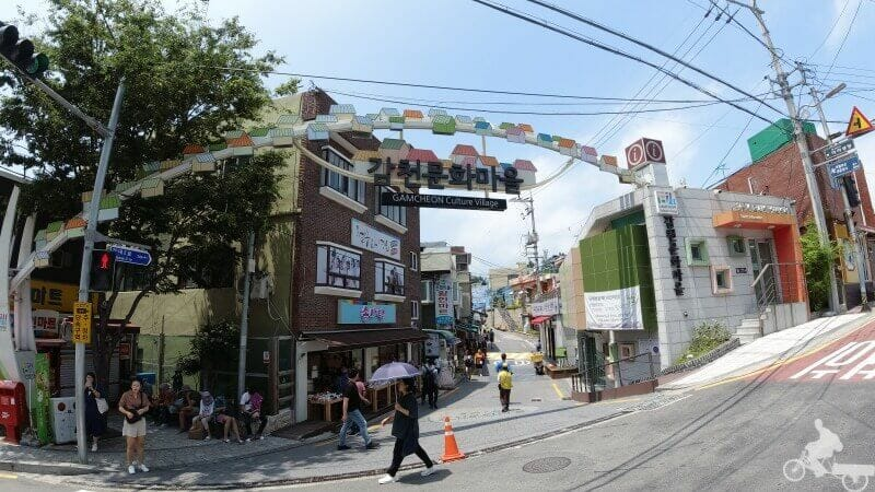 Gamcheon Culture Village puerta entrada