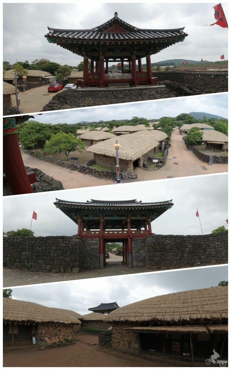 Seongeup folk village - isla de jeju