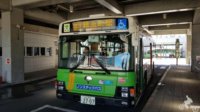 bus harumi port