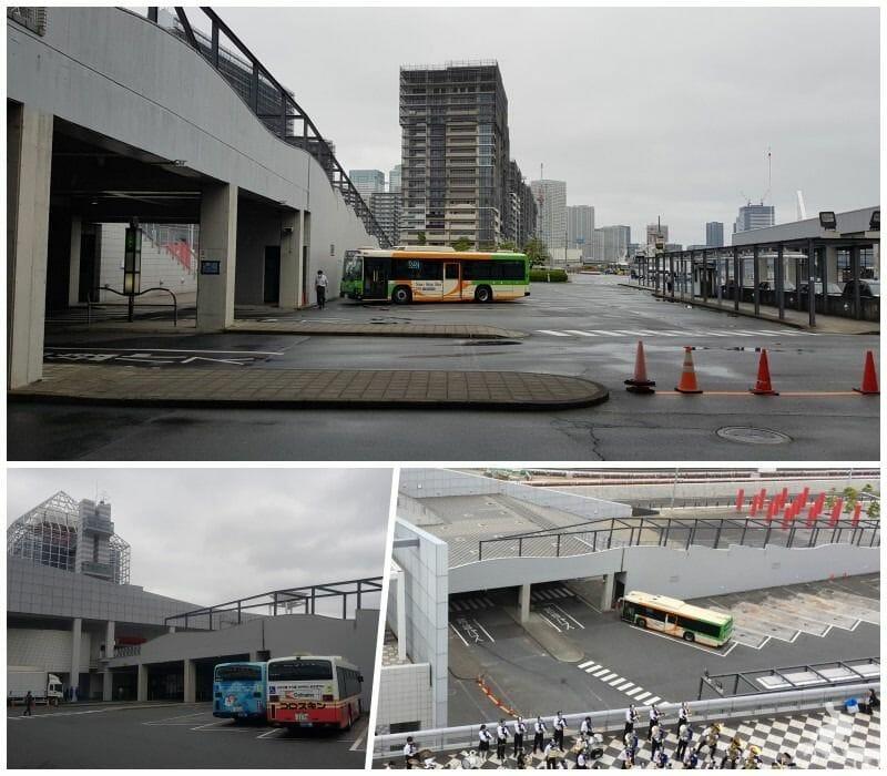 estacion buses puerto harumi