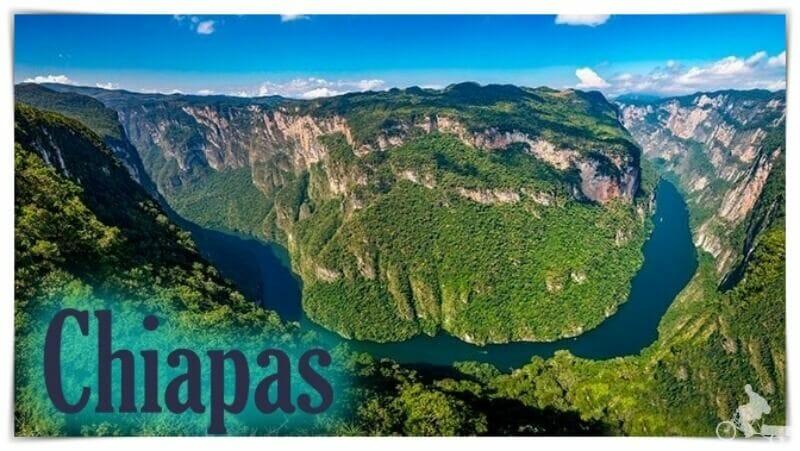 lugares turisticos de Chiapas - que visitar