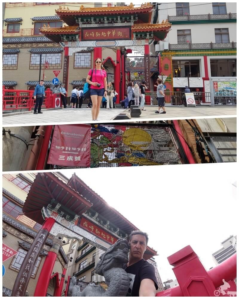 chinatown gate - qué ver en Nagasaki en un día